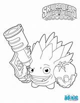 Coloring Skylanders Trap Pages Team Fight Character Colouring sketch template