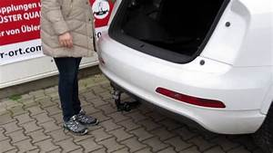 Audi Q5 Anhängerkupplung Schwenkbar Nachrüsten : schwenkbare anh ngerkupplung f r audi q5 und q3 youtube ~ Kayakingforconservation.com Haus und Dekorationen