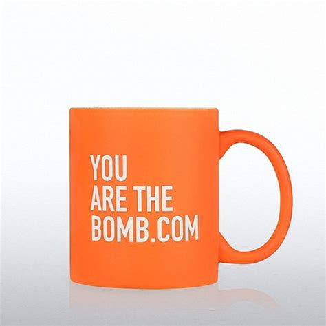 Neon Ceramic Mug: You're the Bomb.com at Baudville.com