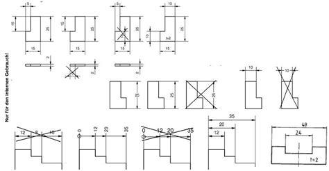technische zeichnung ansichten wissensdatenbank wirtschaftsrecht tutorium wiw konstruktion i