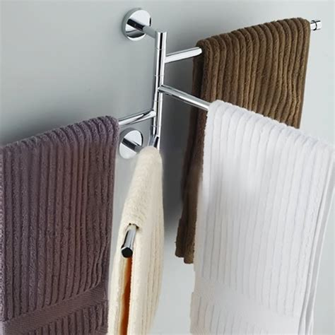 bathroom towel rack hanging storage holder shower