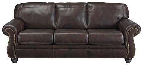 Nailhead Sleeper Sofa by Traditional Leather Match Sofa Sleeper With Rolled
