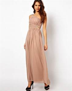 One Shoulder Blush Pink Bridesmaid Dresses - Mother Of The ...