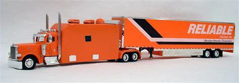 reliable carriers peterbilt  big sleeper truck tractor