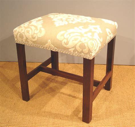 georgian mahogany stool antique dressing table stool