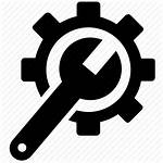 Technical Icon Maintenance Support Assistance Repair Service
