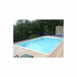 gardipool quartoo 390 x 820 x 146 margelle ipe With amenagement de jardin avec piscine 8 kit berlinoise pin cl4 piscine et bois
