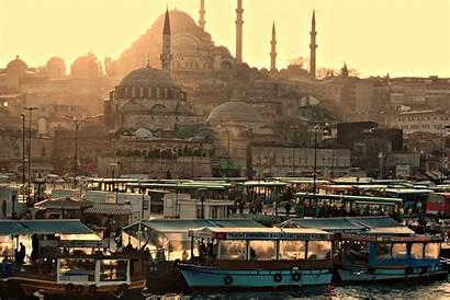 Istanbul Turkey Background Living Turkish Shattered Medium