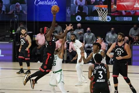 Raptors beat Celtics 100-93 to even East semifinals at 2-2