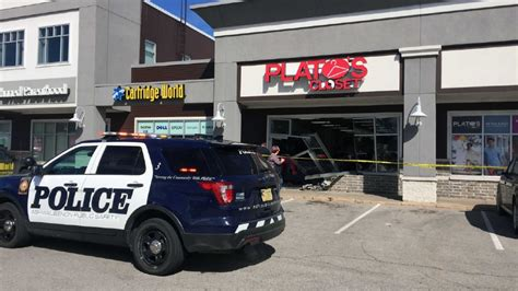 1 taken to hospital after suv crashes into business wluk