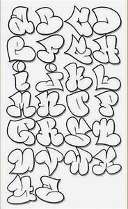 Graffitie: alphabet graffiti bubble letters