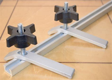 track hold downs madera herramientas aluminio