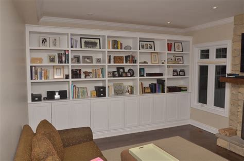 richmond hill living room storage unit traditional