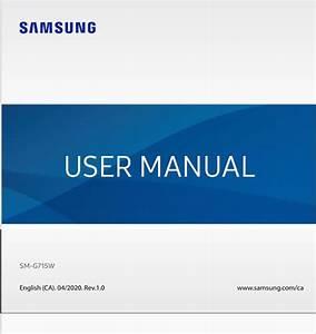 Galaxy Xcover Pro Sm  Guide