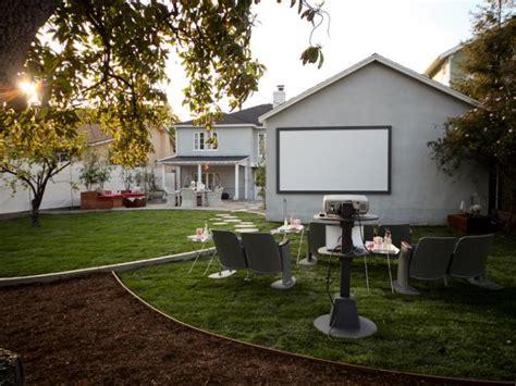 backyard  theater hgtv