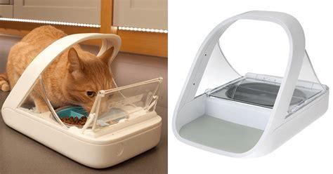 futterautomat mit chip ii  fuer hunde katzen der beste