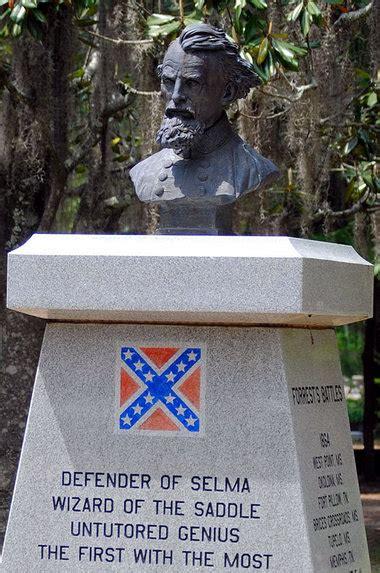 bust  confederate gen nathan bedford forrest missing
