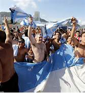 Argentina beat Holland on penalties to face Germany in World Cup Final      Argentinian People White