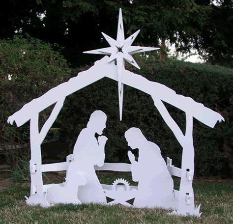 nativity nativity scenes and outdoor nativity on pinterest