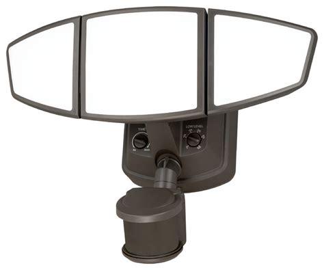 omega smart lighting 3 light motion sensor security light