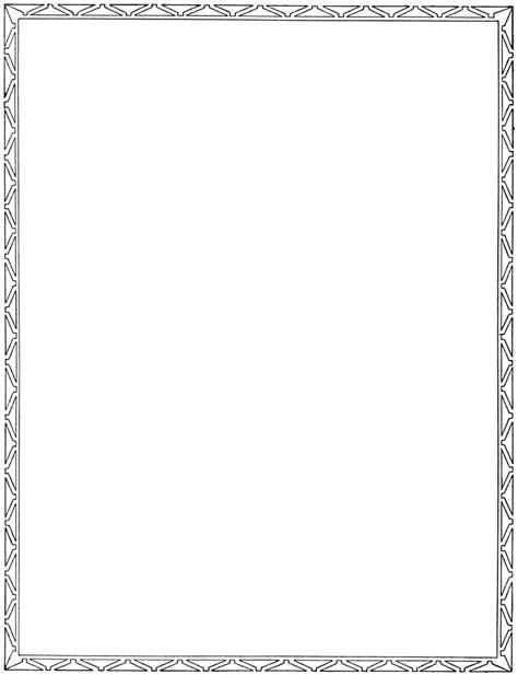 Simple Border Designs Clip Art