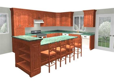 multi level kitchen island multi level kitchen island design ideas handy home design 3411