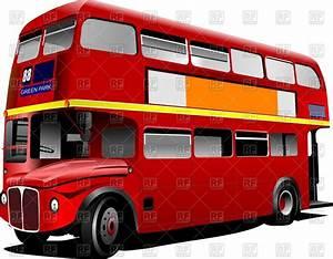 England Bus Clipart - ClipartXtras