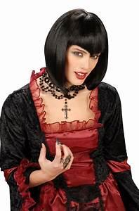 Gothic Kleidung Auf Rechnung : schwarze gothic per cke f r damen per cken und g nstige faschingskost me vegaoo ~ Themetempest.com Abrechnung