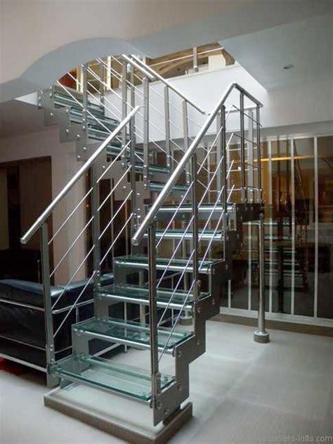 escalier en verre et m 233 tal