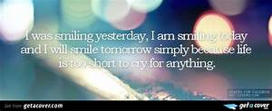 Quotations On Life For Facebook Cover Page   www.pixshark ...
