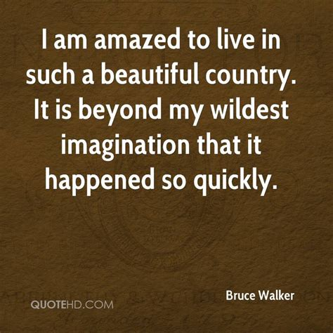 quotes country amazed bruce walker such beyond wildest imagination quotehd quickly happened