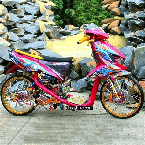 Modifikasi Motor Soul Gt Velg 17 by Modifikasi Mio Soul Gt Thailook Airbrush Drag Racing Velg