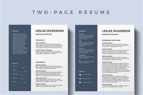 Modern Cv Template Free by 75 Best Free Resume Templates Of 2019
