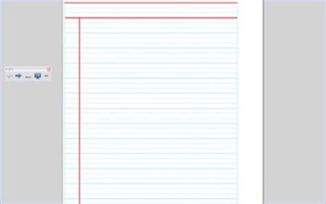 dotted thirds lined paper  smartboard   noyz