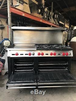 wolf stove range  burners  grill  ovens natural gas