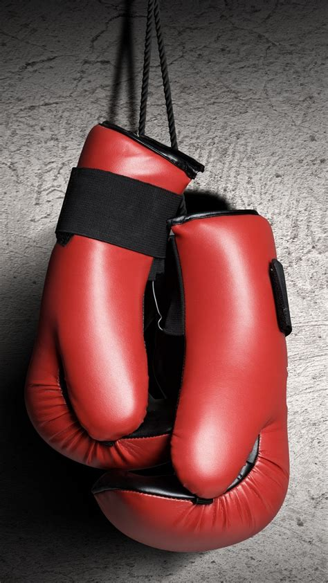 wallpaper boxing gloves red boxing sport