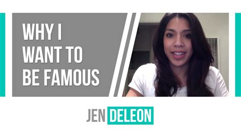 Why I Want To Be Famous Youtube