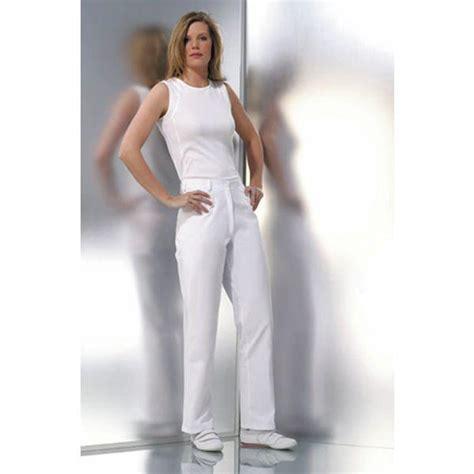 pantalon de cuisine femme pantalon blanc femme taille 40