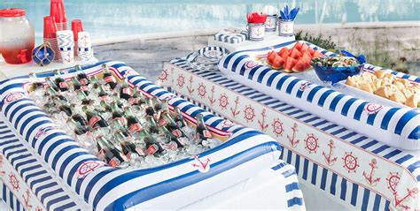 striped nautical theme party party city canada