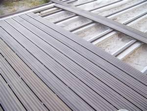 Espacement Lambourde Terrasse Composite : terrasse composite pose lambourde nos conseils ~ Premium-room.com Idées de Décoration