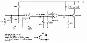 Simple Ac Power Current Detector Circuit With Lm1458