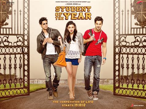 student   year bollywood  trailer review stills