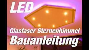 Led Flaschen Beleuchtung Selber Bauen : led deckenleuchte selber bauen led glasfaser hexagon youtube ~ Watch28wear.com Haus und Dekorationen