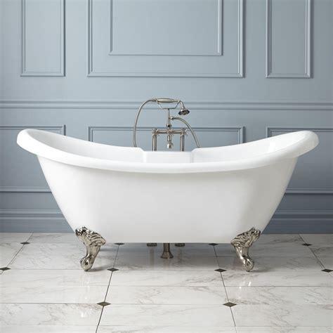 clawfoot tub rosalind acrylic clawfoot tub imperial feet clawfoot tubs bathtubs bathroom