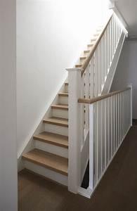 Comment Vitrifier Un Escalier : ides de peindre un escalier en bois brut galerie dimages ~ Farleysfitness.com Idées de Décoration