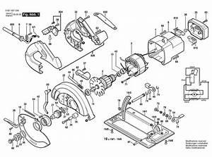 Bosch 1657  0601657039  Parts List
