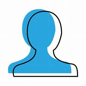 User profile blue icon - Transparent PNG & SVG vector