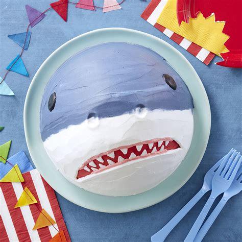 shark cake birthday cake ideas wilton