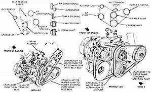 I Need A Belt Routing Diagram For A 1989 Ford Bronco Ii 2 9l