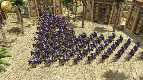 ptolemaic royal guard cavalry image  ad empires